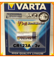 Батарейка 3v CR123A VARTA Professional High Quality LITHIUM